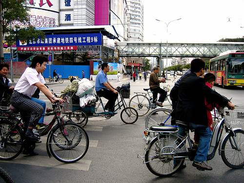 bicicletas en beijing