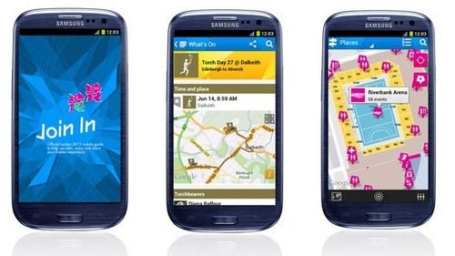 aplicación London 2012