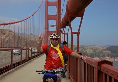 cruzar el Puente Golden Gate