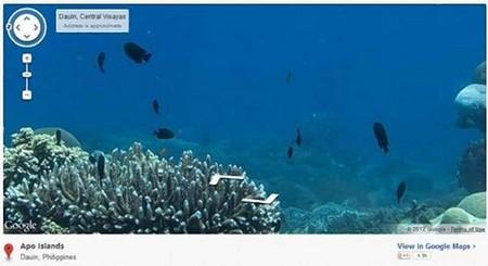 Google Maps oceanos