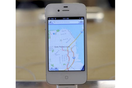 Google Maps en el iPhone