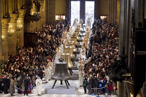 campanas de Catedral de Notre Dame