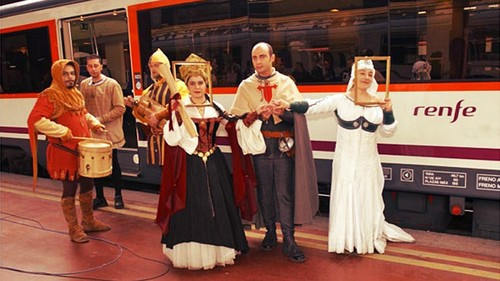 tren medieval de Sigüenza