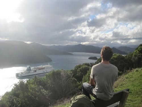 Ferry en Nueva Zelanda