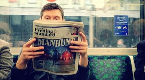 Prensa gratuita en Londres