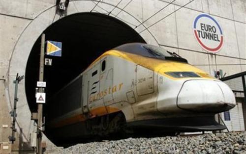 londres a paris en tren: