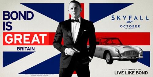 Concurso de viaje James Bond