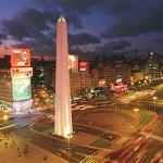 Avenida 9 de Julio en Buenos Aires :: El Obelisco