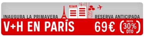 Viajes baratos a Paris