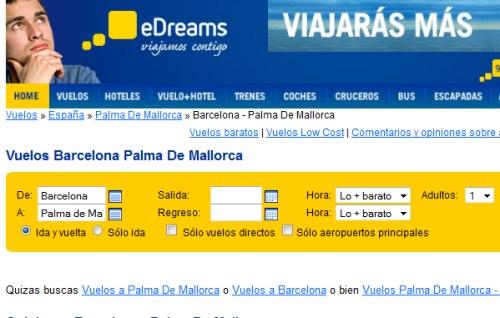 Viajes baratos Desde Barcelona a Palma de Mallorca