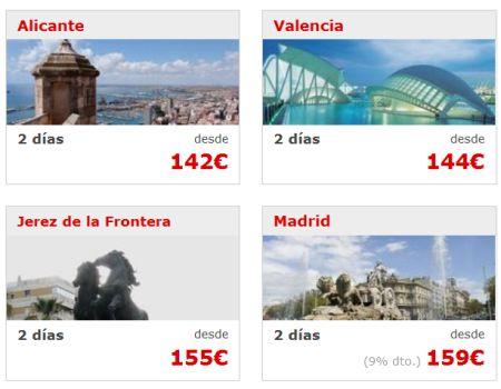 Viajes baratos Escapadas Puente de Santiago