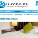 Puente de Octubre a precios muy baratos en hoteles