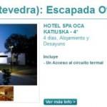 Una escapada a las Termas de Pontevedra de 4 días por 60 euros